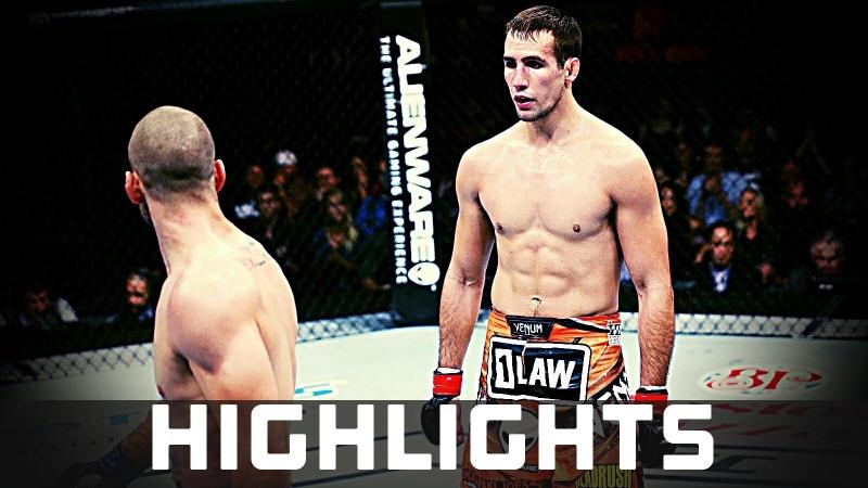 Rory MacDonald vs. Tarec Saffiedine ● Fight Highlights ● HD