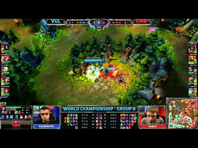 VUL vs GMB Vulcun vs Gambit Gaming Worlds 2013 Group Stage Day 2 Full game HD