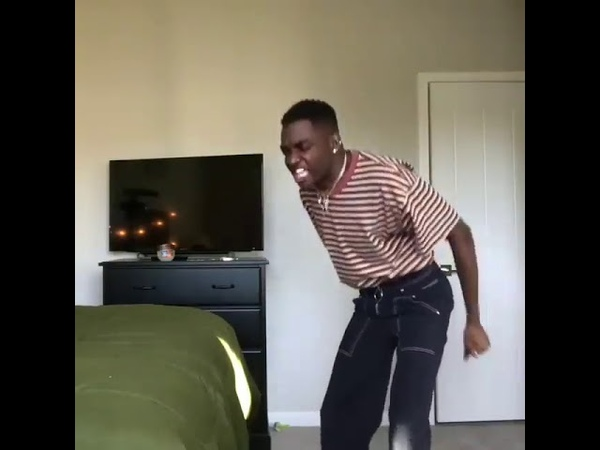 Rickey Thompson teach you how to dance Funny video