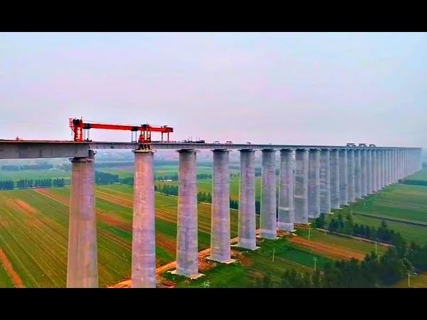 Китайцы не успокоятся Строительство самого большого железнодорожного виадука в мире