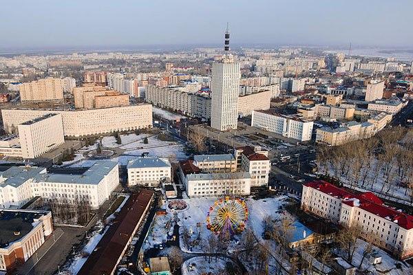 Архангельск. Самые красивые города России