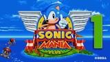 ПЕРВЫЙ ВЗГЛЯД Прохождение Sonic Mania Plus Encore Mode ЧАСТЬ 1