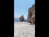 Кипр-2018, место выхода из пены морской Афродиты
