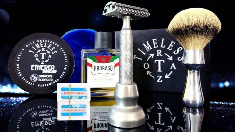 💈 Бритье Станок Timeless Razor 95 gap ArtRazor Brush Proraso After Shave