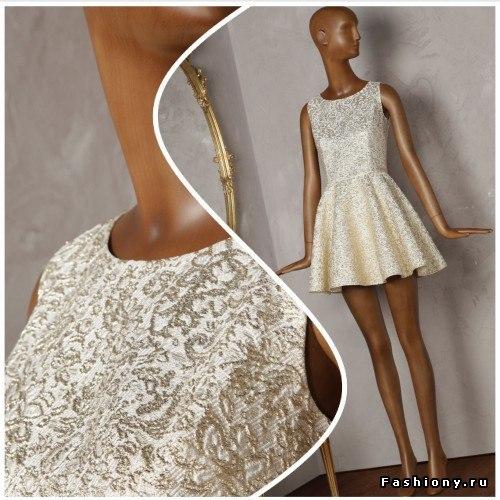 Шьем нарядное платье (8 фото) - картинка