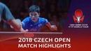 Tomokazu Harimoto vs Patrick Franziska   2018 Czech Open Highlights (1/4)