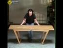 Трансформер стол-скамейка