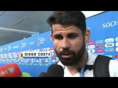 Veja o que disse Diego Costa após jogo contra Portugal, sobre Cr7 e Seleção Brasileira