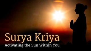 Surya Kriya: Activating the Sun Within You | Sadhguru
