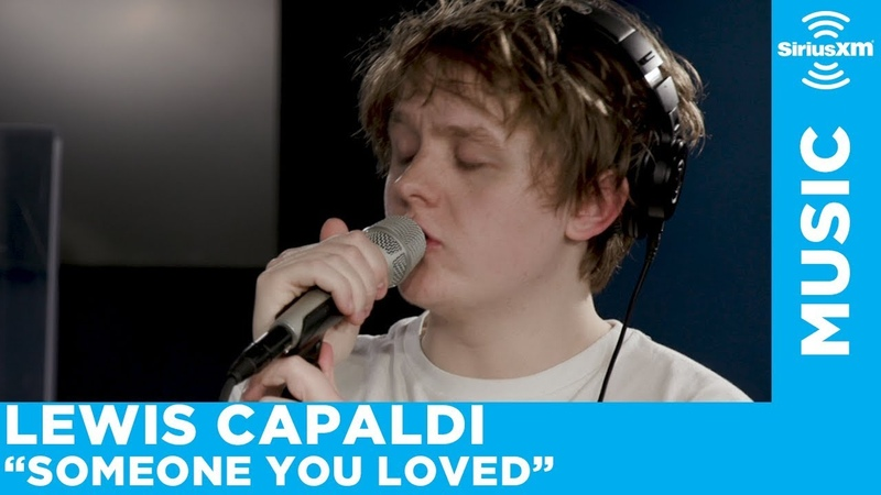 Lewis Capaldi Performs Someone You Loved Live at SiriusXM