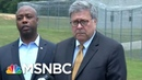 Watch AG Barr Called Out As 'Law Breaker' By Prosecutor | The Beat With Ari Melber | MSNBC
