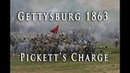 Civil War 1863 - Gettysburg's Picketts Charge
