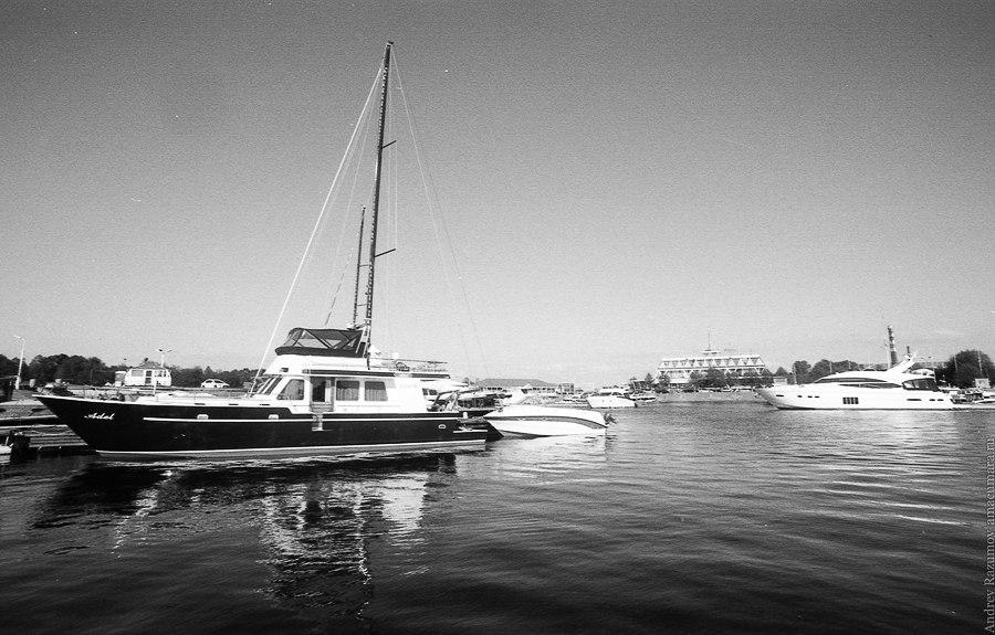 Яхта Финский залив