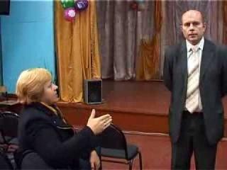 Собрание в школе №4 в поддержку С.В. Погодина