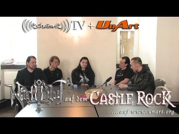 UnArt Live TV - Interview mit Nachtblut auf dem Castle Rock Festival 2013
