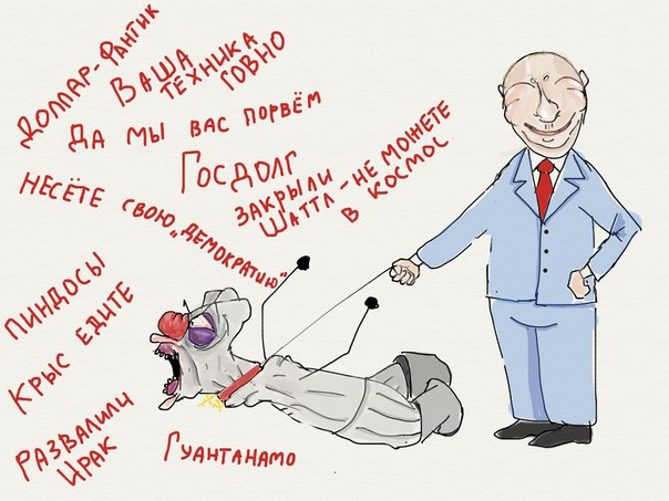 Россия Америке не друг: 50% жителей США считают РФ недружественной и враждебной - Цензор.НЕТ 3311