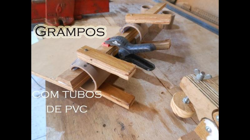 Como fazer grampos com tubos de PVC