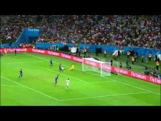 Гол Марио Гетце Германия Аргентина 1 0 Дополнительное время  Чемпионат мира по футболу 2014