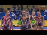 Сборная России - 3 мяча + 2 скакалки (финал) // Чемпионат Мира 2018