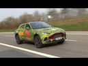 2020 Aston Martin DBX - Exhaust SOUNDS On The Nurburgring!