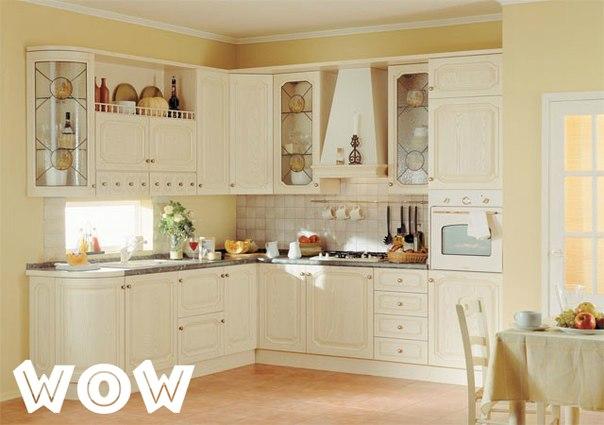 Интересная идея оформления кухни, креативные идеи для кухни, моноцветная кухня