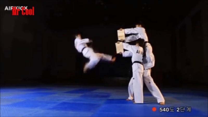 540 Degree Taekwondo Kick Amazing Kick