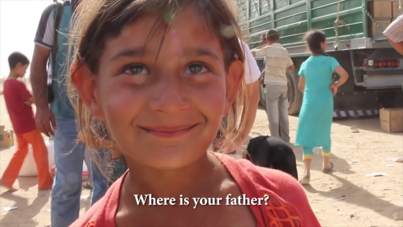 Malak The Girl Who Stumbled Out of a War Zone and Stole Our Hearts