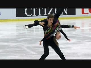 Kostiukovich Polina / Ialin Dmitrii (RUS) | Pairs Free Skating | Ostrava 2018