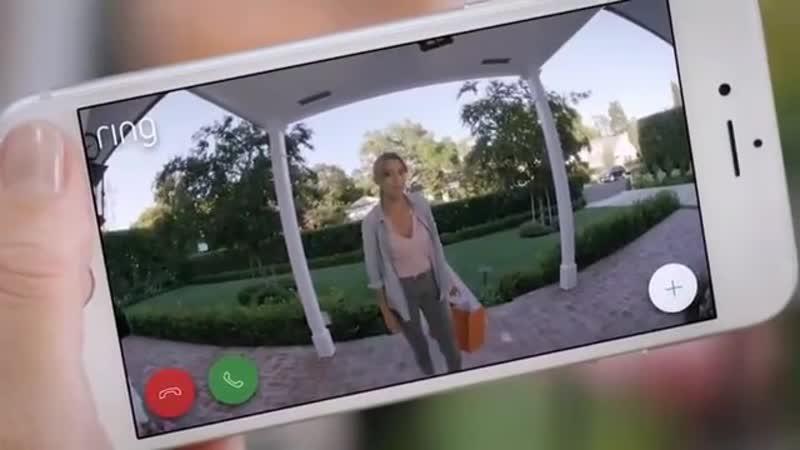 Дверной звонок со встроенной wi-fi камерой