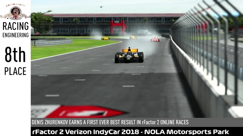 RF2 VERIZON INDYCAR 2018 - NOLA MOTORSPORTS PARK GP