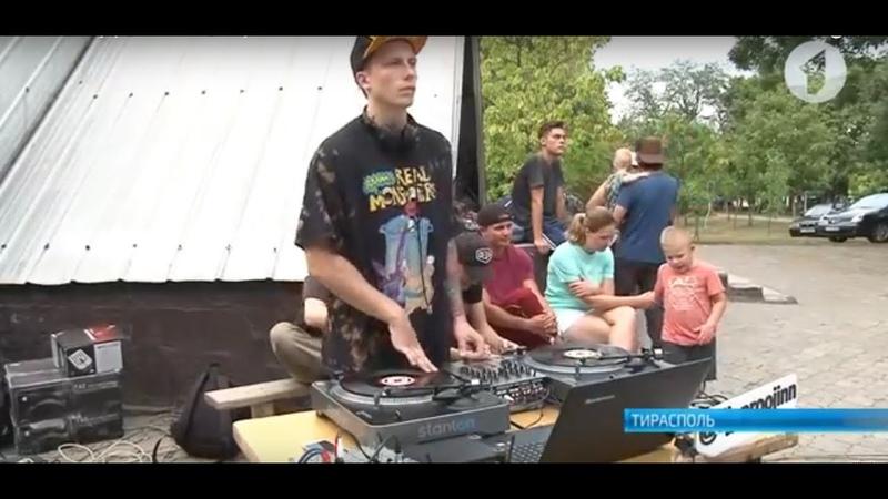 Хип хоп и брейк данс в парке Победа