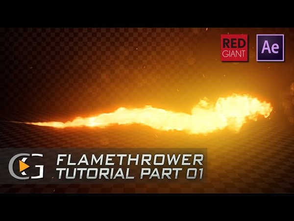 After Effects Flamethrower Tutorial Trapcode Particular - Part 01