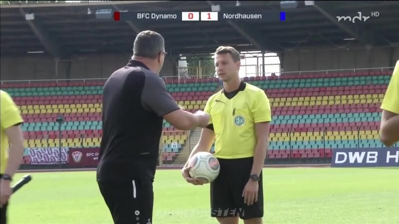 Динамо Берлин - Вакер Нордхаузен 1:1 (0:1) 16.09.2018