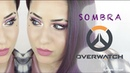 SOMBRA Overwatch Makeup Tutorial by Gabriela Kempel