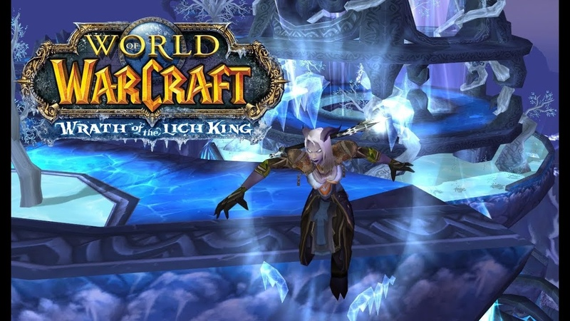 World of Warcraft LichKing 3 3 5 Isengard x2 прохождение за фрост мага 30 Хладара