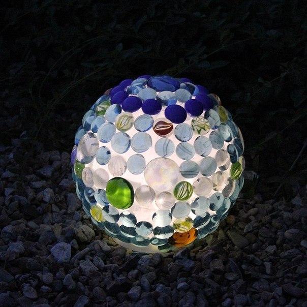 Светящиеся шары как сделаны