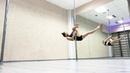 Pole dance трюки и прыжки