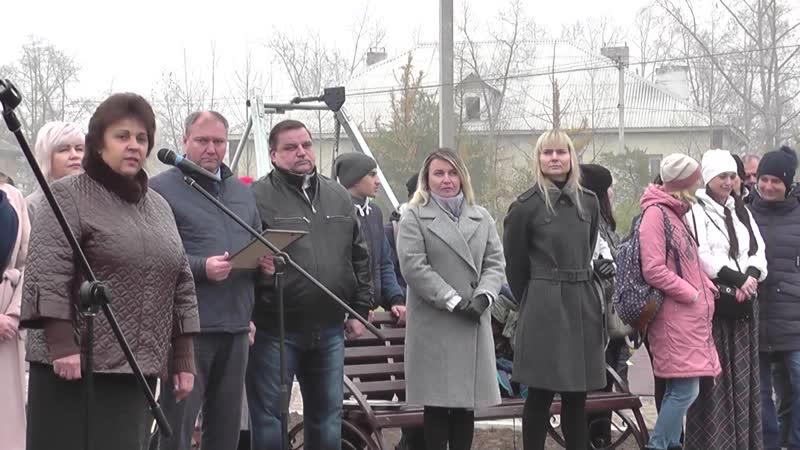 Открытие летней спортивной тренировочной площадки установленной ООО СУЭК-Хакасия и Администрацией г.Черногорска.