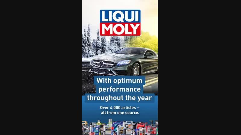 ❄️ Зима не повод для переживаний - продукция Компании LIQUI MOLY делает повседневную жизнь автолюбителя беззаботной даже в самое