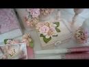 Свадебные аксессуары ручной работы в цвете Пудра