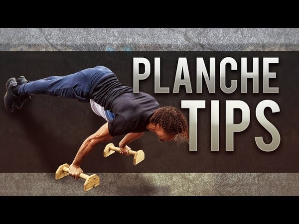HOW TO TRAIN THE PLANCHE - BEST TIPS FOR BEGINNERS