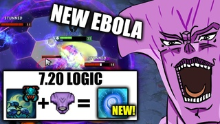 NEW EBOLA/AIDS Carry 7.20 IMBA Faceless Void Delete PA + Juggernaut EZ WTF META Dota 2