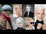 Pixie haircut ideas & Short hairstyles for older women over 50