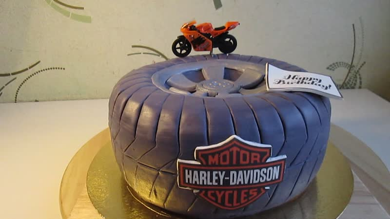 3D торт Колесо