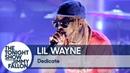 Выступление Lil Wayne с треком Dedicate на шоу Джимми Фэллона