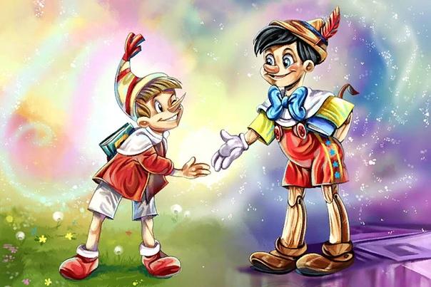 Пиноккио В России маленькие мальчики и девочки чуть ли не наизусть знают сказку Алексея Толстого, где Буратино отравляется на рынок, дабы купить курточку папе Карло. Но этот деревянный герой