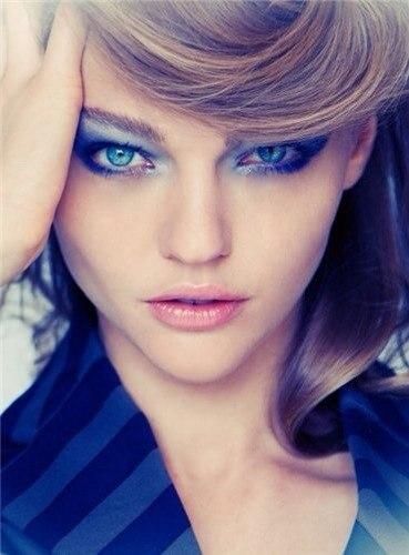 как наносить макияж на глаза