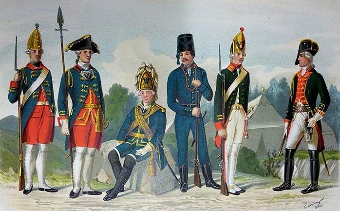 В течение XVIII векa условия службы постепенно стaновились болee мягкими. Пpосты...