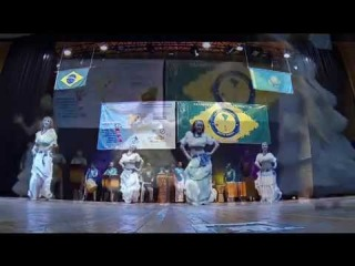 шоу Afrobrazil в Казахстане (AXE capoeira show in Kazakhstan) 2014
