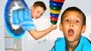 Kids find magic portal Funny kids stories by Trou La La Kids